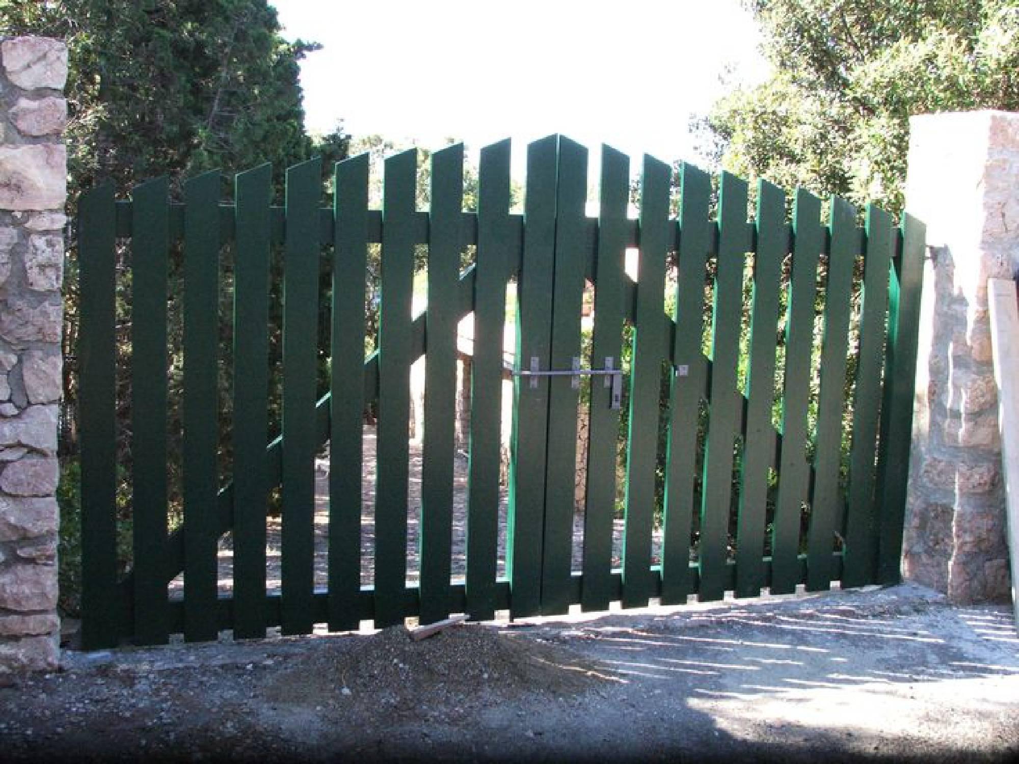 Amantini recinzioni cancelli in ferro o legno - Cancelli in legno per esterno ...